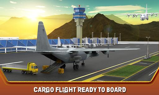 貨物飛行機空港トラック