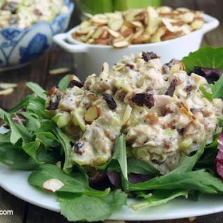 Delicious {Reduced Calorie} Chicken Salad