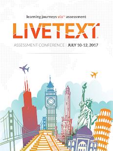 LiveText Assessment Conference - náhled
