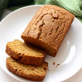 Coconut Oil Zucchini Bread.