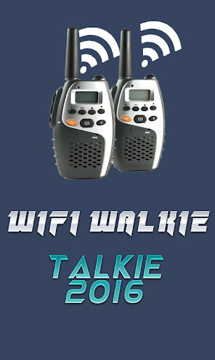 WIFI Walkie Talkie 2016