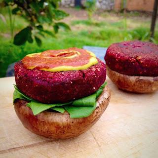 Raw Beet Burgers (Recipe)