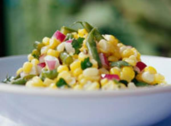 Green Bean Succotash Salad