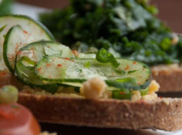 Kale,lemon And Cilantro Sandwhich Recipe