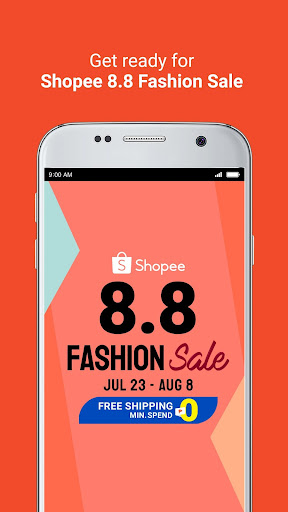 Shopee 8.8 Fashion Sale screenshots 2