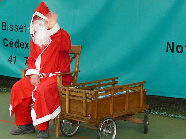 30/12/2017 - Le Père Noël passe au TCG lors de sa tournée !