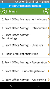 Learn Front Office Management- screenshot thumbnail