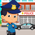Pretend in Police Station: Fun Learning City icon