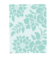 Sizzix Textured Impressions Embossing Folder - Botanicals