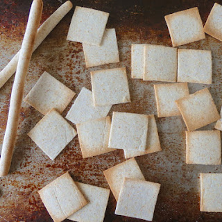 Coconut Flour Crackers and Grissini.
