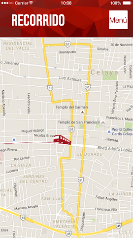android Tu ruta - Celaya,  Guanajuato Screenshot 11