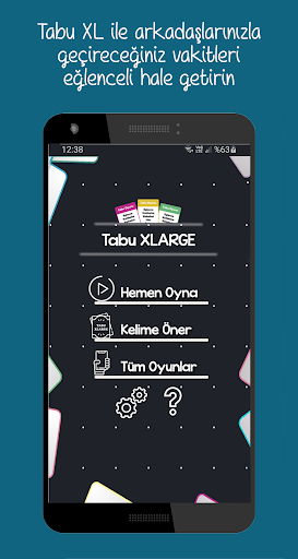 Tabu Oyunu XL 1.10 screenshots 1