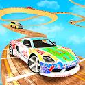 Grand Mega Ramp Car Stunts 2019 Game icon