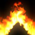 Magic Flames: fire simulation sandbox & wallpaper icon