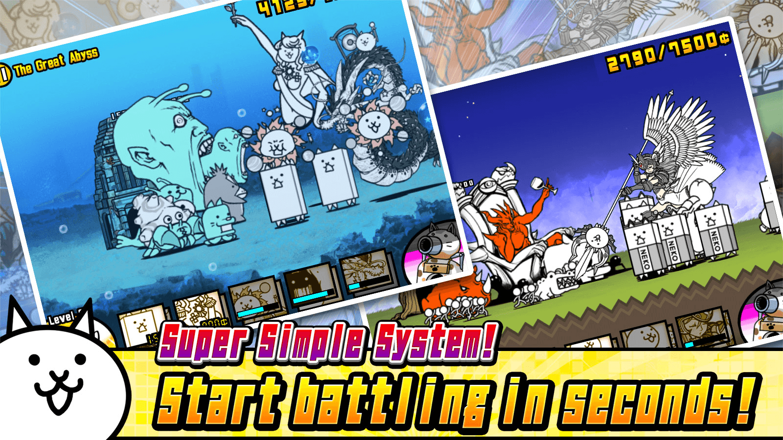 The Battle Cats- screenshot