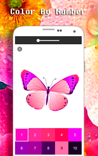 Butterfly Coloring Book - Color By Number apkdebit screenshots 3