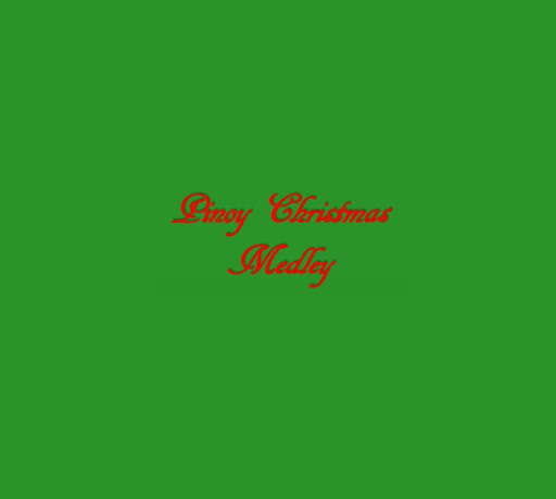 Pinoy Christmas Medley Lyrics