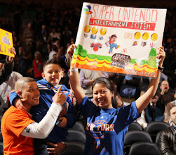 Photo: NEW YORK, NY - FEBRUARY 15:  Fans show their support for Jeremy Lin #17 of the New York Knicks (not pictured) prior to the game against the Sacramento Kings on February 15, 2012 at Madison Square Garden in New York City.  NOTE TO USER: User expressly acknowledges and agrees that, by downloading and or using this photograph, User is consenting to the terms and conditions of the Getty Images License Agreement. Mandatory Copyright Notice: Copyright 2012 NBAE  (Photo by Nathaniel S. Butler/NBAE via Getty Images)