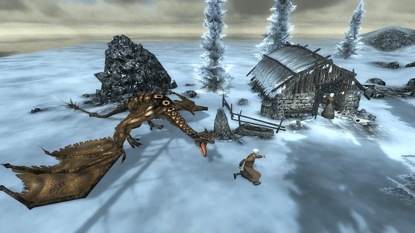 android Wyvern Simulator 3D Screenshot 4
