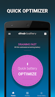 dfndr battery: manage your battery life Screenshot