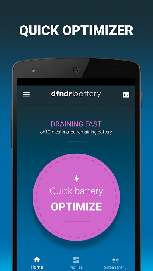 dfndr battery: manage your battery life- screenshot