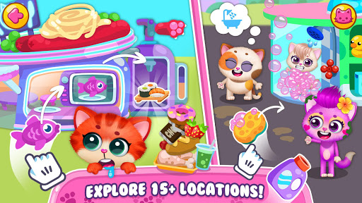 Little Kitty Town - Collect Cats & Create Stories  screenshots 5