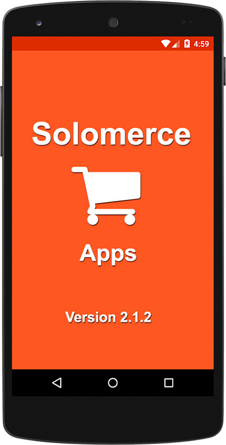 Solomerce Apps- screenshot