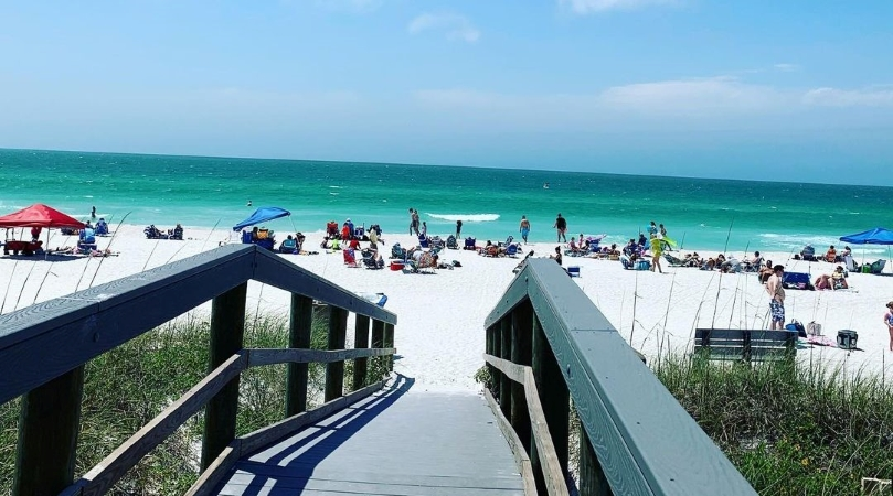 Pass-A-Grille Beach in Florida