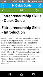 Learn Entrepreneurship Skills- screenshot thumbnail