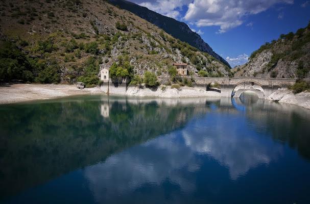 Paesaggio in Blu Kein di Andrea Di Florio