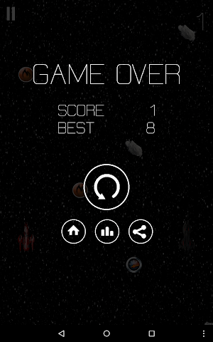 android Two space ship Screenshot 7