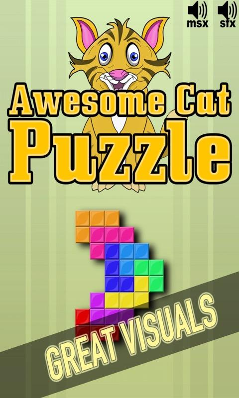 Awesome Cat Puzzle- screenshot