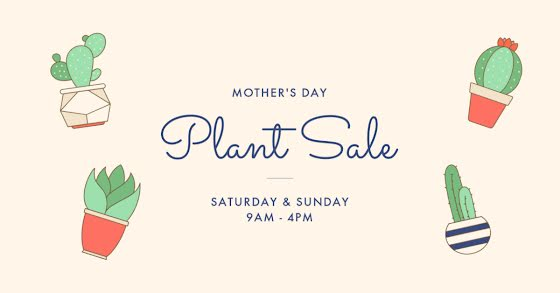 Mother's Day Plant Sale - Mother's Day Template