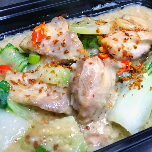 Coconut Ginger Chicken Rice Combo