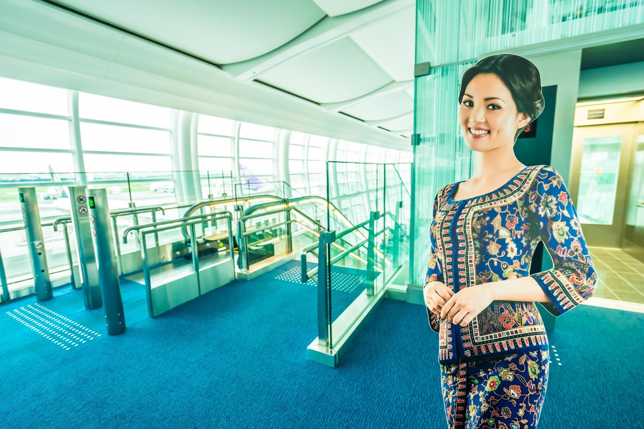 羽田空港 シンガポール航空1