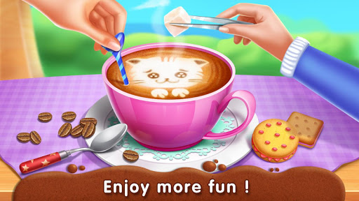 ud83dudc31Kitty Cafu00e9 - Make Yummy Coffeeu2615 & Snacksud83cudf6a apkdebit screenshots 3