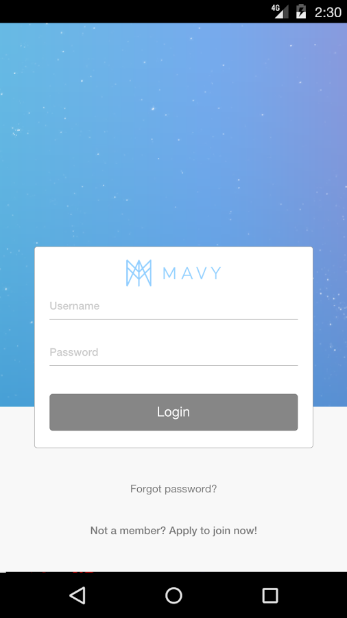 Mavy Community- screenshot