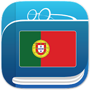 App Icon for Portuguese Dictionary App in Spain Play Store