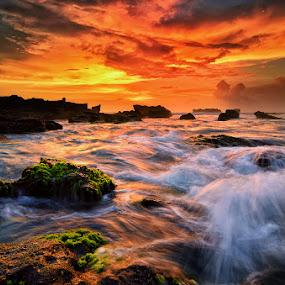mengening by Raung Binaia - Landscapes Sunsets & Sunrises (  )