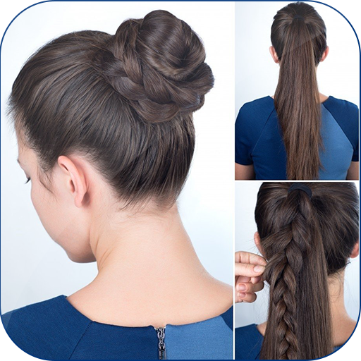 Cute Girls Hairstyle Tutorial Step By Step 2019 Apps On