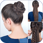 Cute Girls Hairstyle Tutorial Step by Step 2019 1.0