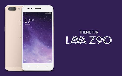 Theme for Lava Z90 - náhled