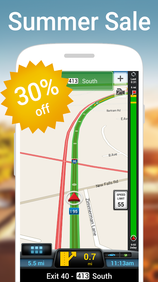 CoPilot USA - GPS Navigation- screenshot