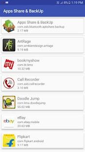 Bluetooth App Share - náhled