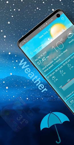 weather and radar live forecast screenshot 1