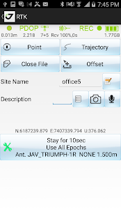 JAVAD Mobile Tools- screenshot thumbnail