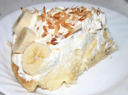Creamy Banana Cream Pie Recipe