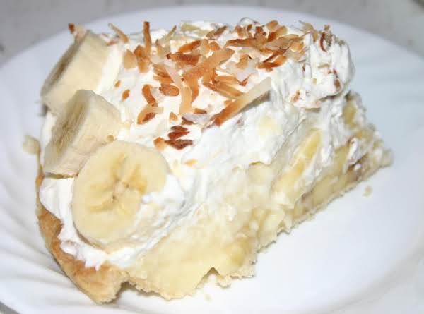 Creamy Banana Cream Pie Recipe