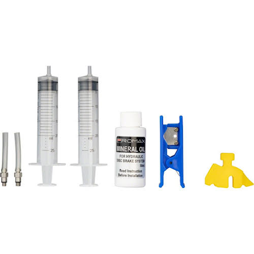 Promax Disc Brake Bleed Kit with 50ml of Mineral Oil