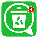 Recover Deleted Messages: Auto Status Saver App icon